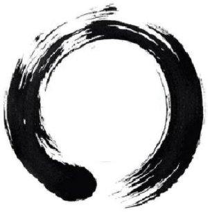 the circle.
